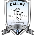 Dallas Hand Knitters Guild 20th Anniversary Crest